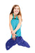 Mermaid Sleeping Bag - Turquoise / Cobalt