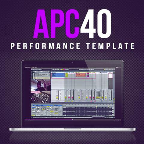 APC40 PERFORMANCE TEMPLATE – LIVE 9 - ProducerDJ.Market