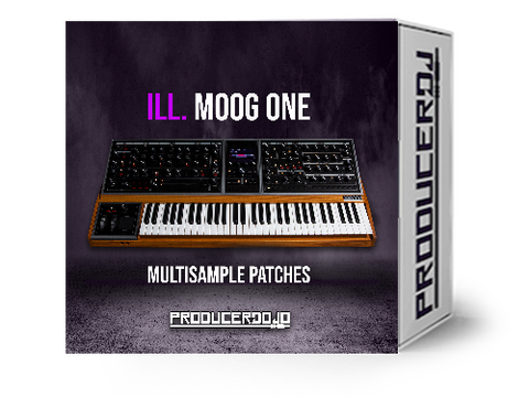 iLL. Moog One Patches - ProducerDJ.Market