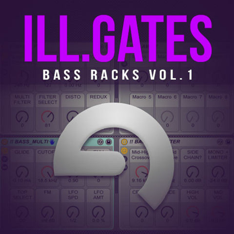 ill.GATES Bass Racks Vol. 1 - Ableton Live 9 - ProducerDJ.Market