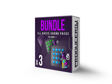 ill.GATES Sound Packs Volume 1 - Ableton Live 9 - ProducerDJ.Market