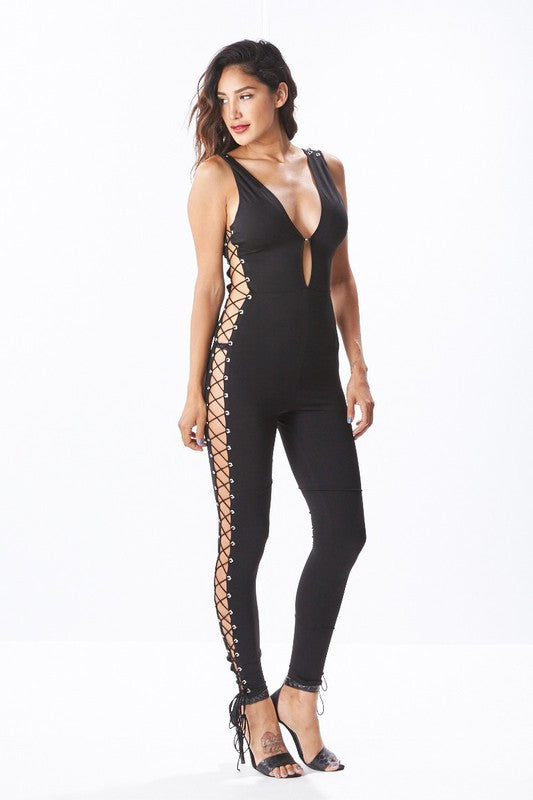 Bare & Laced Jumpsuit