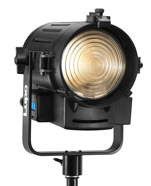 Lupo Dayled 650 Daylight Fresnel light with DMX
