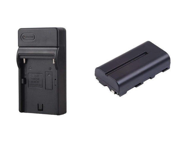 GVBGear Battery & Charger Kit for GVB Gear On-Camera Lights , Monitors , Light-panels and more