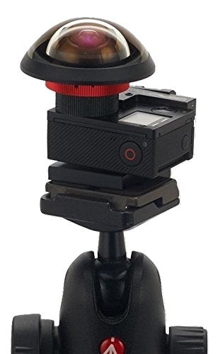 One Cam Rig for modified GoPro with Entaniya Fisheye 280