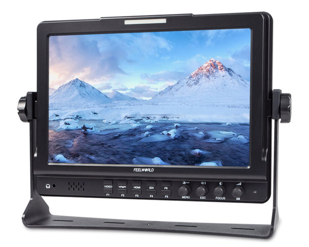 "Feelworld 10.1"" IPS 3G-SDI Camera-Top Field Monitor"