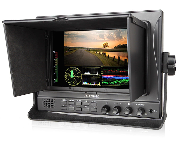 "Feelworld 7"" IPS Fully Featured Dual 3G-SDI Camera-Top Field Monitor"