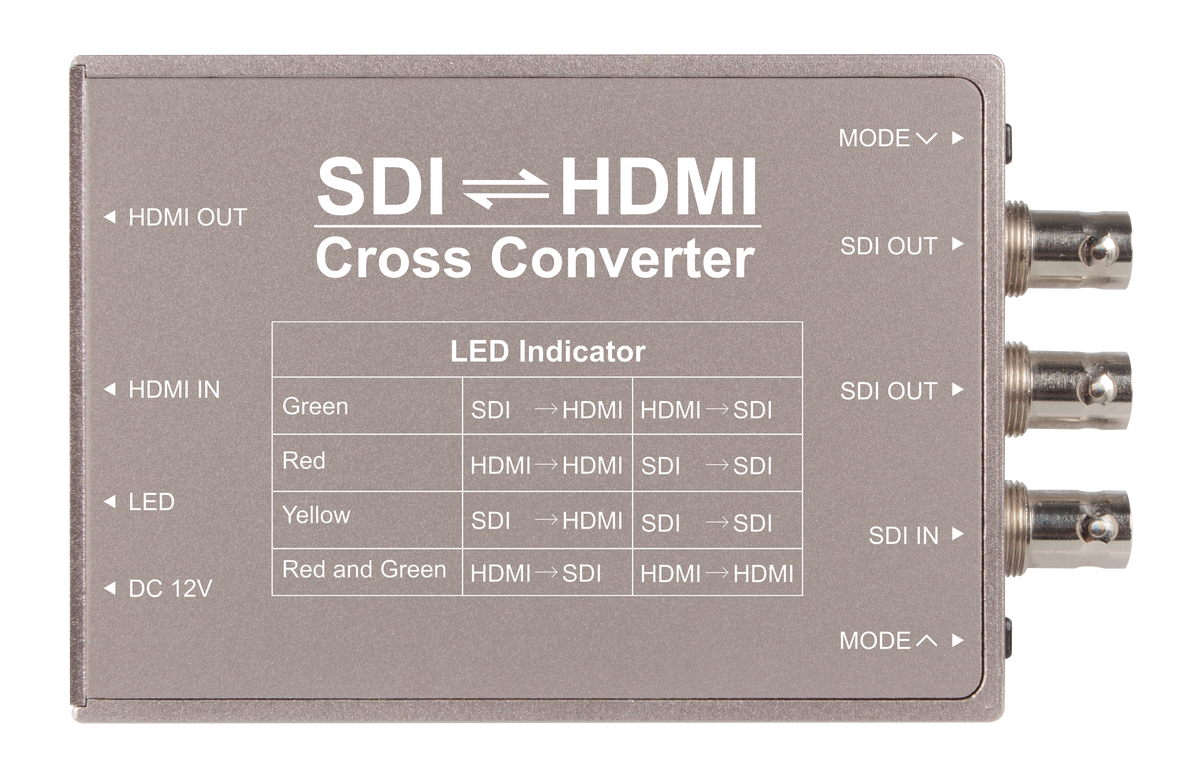 Feelworld SDI HDMI cross converter