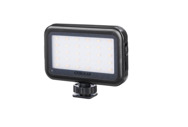 GVB On camera  Mini LED Video Light with USB Charge Port