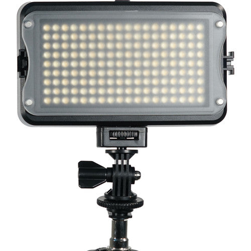 On-Camera Light for DSLR, Video Camera with Hot Shoe Adapter by GVB Gear 162 LED