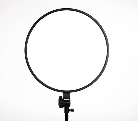 "GVB Gear Rpad-450 Super Soft 18"" Circular Bi-Color LED Light  (Dual NP-F Type Battery Mount) (Certified Refurbished)"