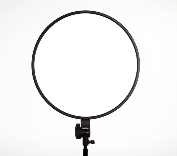 "GVB Gear Rpad-450 Super Soft 18"" Circular Bi-Color LED Light (Dual NP-F Type Battery Mount)"