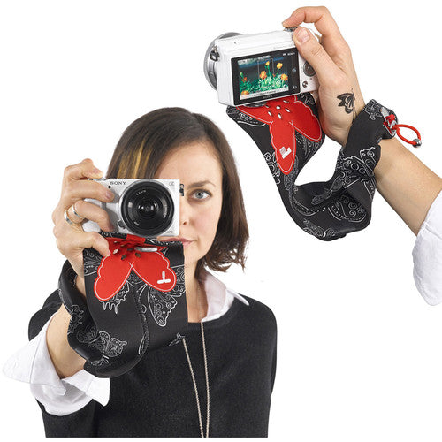 Miggo Padded  Camera Grip and Wrap  for P&S and Small Mirorless Cameras  - RW