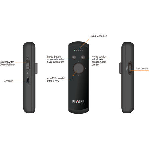 Pilotfly RM-1 Wireless Remote for the H1+, H2, FunnyGo2
