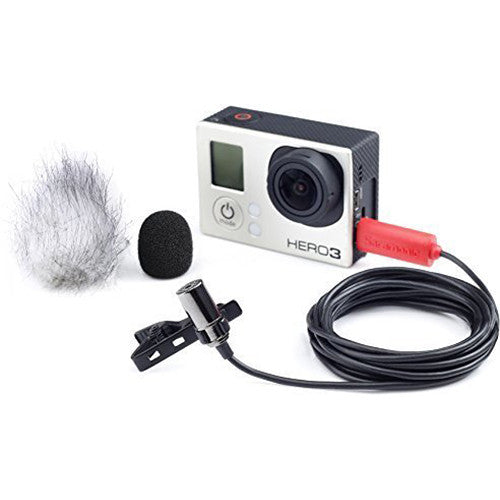 Saramonic Lavalier for GoPro Hero 4, Hero 3+, 3 camera