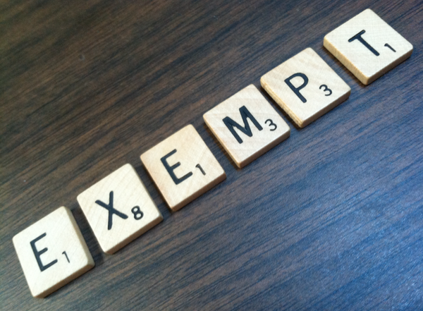 Are you tax exempt?