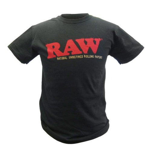 Raw Black T Shirt