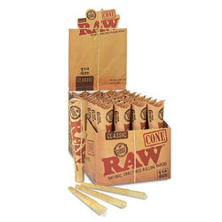 Raw Pre Rolled Cones King Size Box of 32