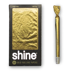 Shine 24K Gold Rolling Paper 1-Sheet Pack (King Size)