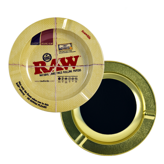 Raw Metal Ashtray - Magnetic
