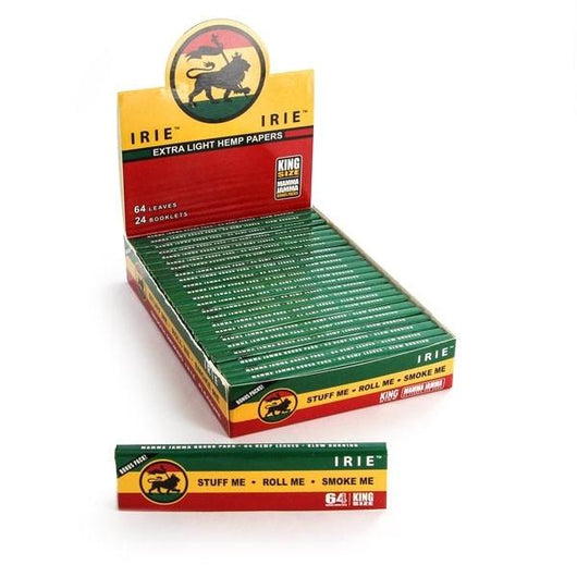 Irie Extra Light Hemp King Size Box of 24