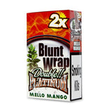 Blunt Wrap Double Platinum - Mello Mango (Yellow)