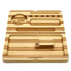Raw Bamboo Backflip Rolling Tray (Limited Edition)