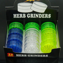 55mm Plastic Grinder (12/box)