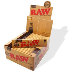 Raw King Size Slim Papers Box of 50