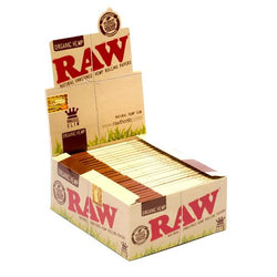 Raw Organic King Size Slim Papers Box of 50