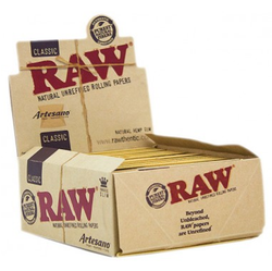 RAW Artesano King Size Slim + Tips + Tray