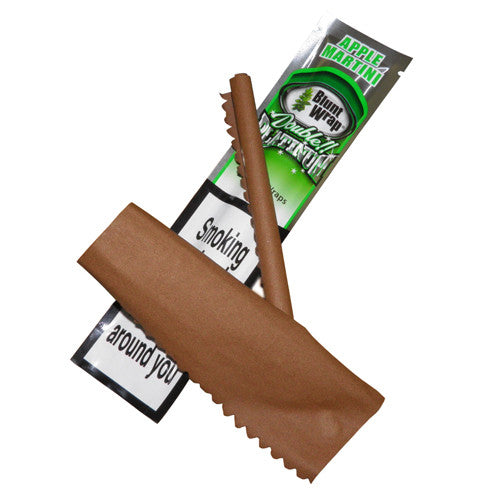 Blunt Wrap Double Platinum - Apple Martini (Green)