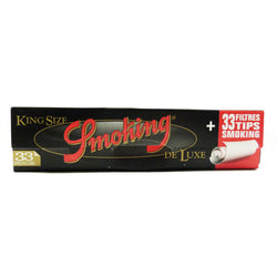 Smoking Deluxe King Size Slim + Filter Tips