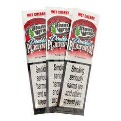 Blunt Wrap Double Platinum - Cherry (Maroon)