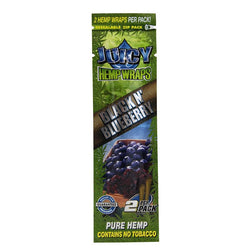 Juicy Hemp Wraps - Black n Blueberry