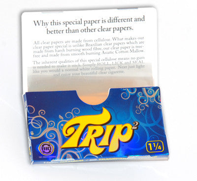 Trip2 1 1/4 Size Clear Papers