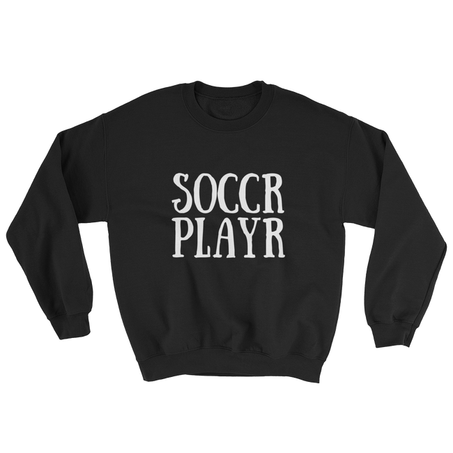 Soccr Playr Pullover Sweater
