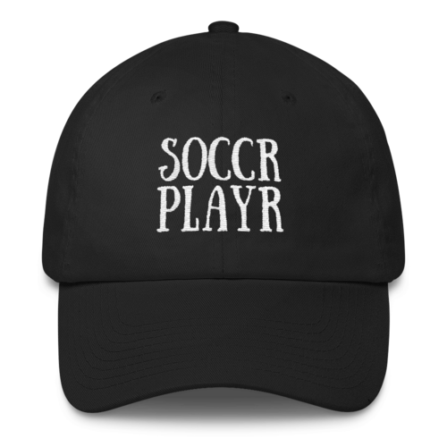 Soccr Playr Dad Hat