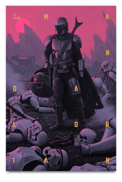 The Mandalorian Artist Proof - Regular