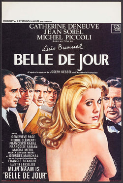 Belle de Jour Original Movie Poster