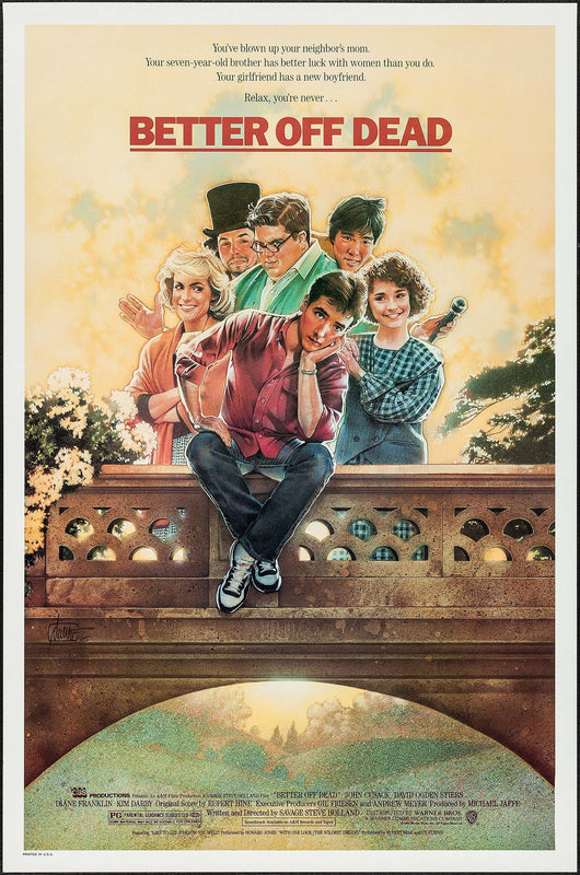 Better Off Dead Original Movie Poster