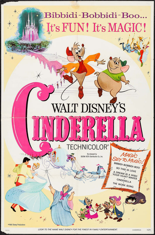 Cinderella Vintage Movie Poster