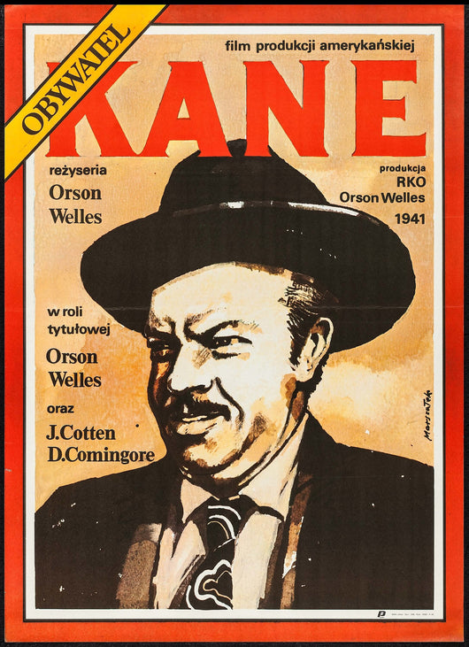 Citizen Kane One Sheet Movie Poster