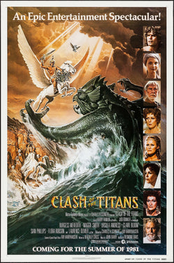 Clash of the Titans Original Vintage Movie Poster