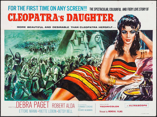 Cleopatra's Daughter Original Movie Poster