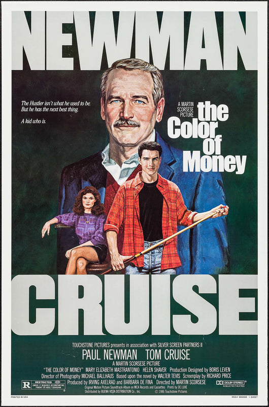 Color of Money Original Movie Poster