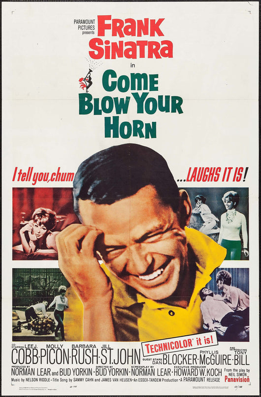Come Blow Your Horn Original Movie Poster