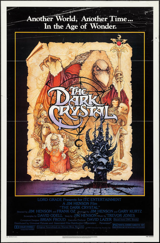 The Dark Crystal Original Movie Poster