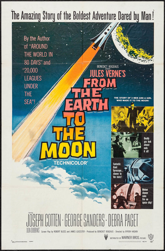 From the Earth to the Moon Original Movie Poster