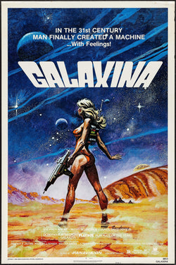 Galaxina Original Movie Poster